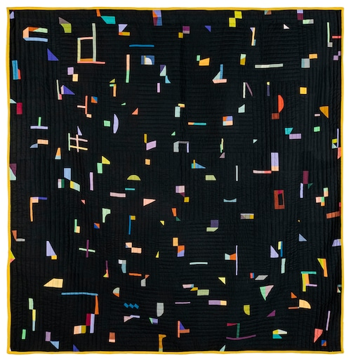 """Kione's """"Bits and pieces quilt"""""""