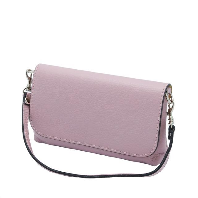 【イタリア製】 ミニバッグ フォーマル パーティー ピンク