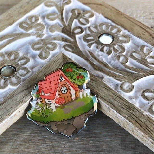TOPANGA Accessory Sweet home ピンブローチ