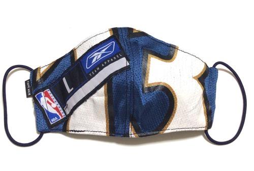 【デザイナーズマスク 吸水速乾COOLMAX使用 日本製】NBA WIZARDS SPORTS SPECIAL Reebok MASK CTMR 0225016