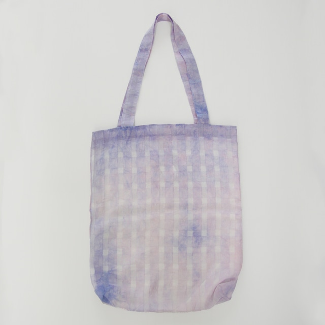 Eco tote bag  -Blue Lavender