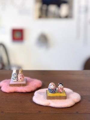 たまごの豆雛/卵殻モザイク研究所