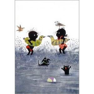 ポストカード みんなで海へ(FO_PO_10055)
