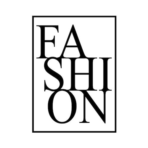 """FASION"" White - POSTER [SD-000557] A4サイズ ポスター単品"