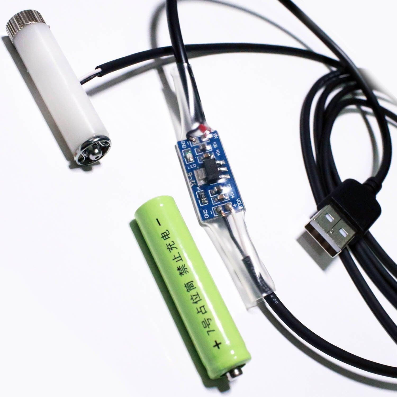 単4電池形2本用USBケーブル2m [AAABAT-USB030V]
