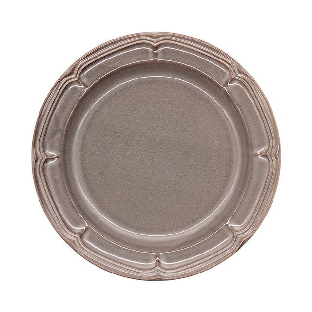 Koyo ラフィネ リムプレート 皿 23.5cm ストームグレー 15973104