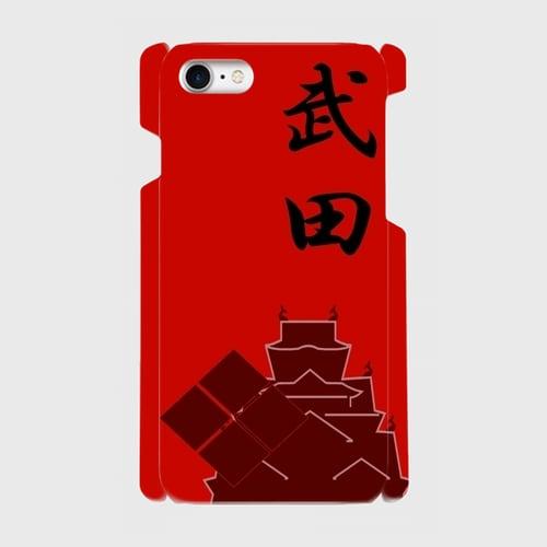 武田氏家紋/ iPhoneスマホケース(ハードケース)