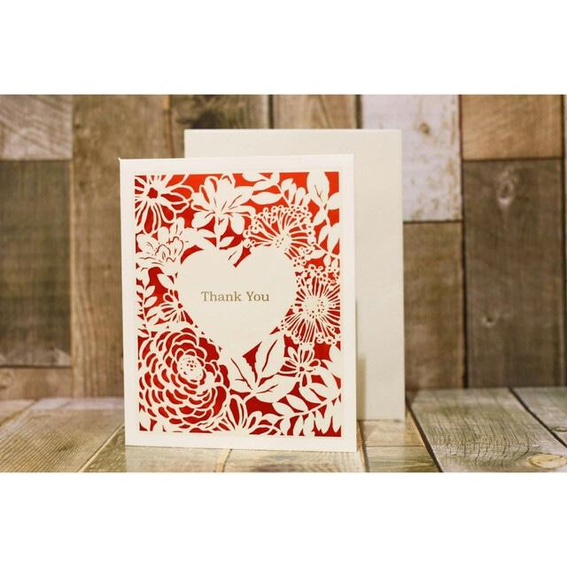 (両親に贈る手紙)メッセージカード封筒&レターセット02【花嫁さんのお手紙/結婚お祝いカード/weddingカード】..by6sense ウェディングアイテム