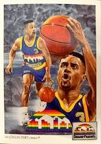 NBAカード 91-92UPPERDECK CHECKLIST #89 NUGGETS