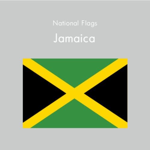 国旗ステッカー ジャマイカ