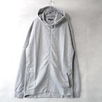 9.1oz Performance Fleece FULL-ZIP Hoodie - H.Grey -