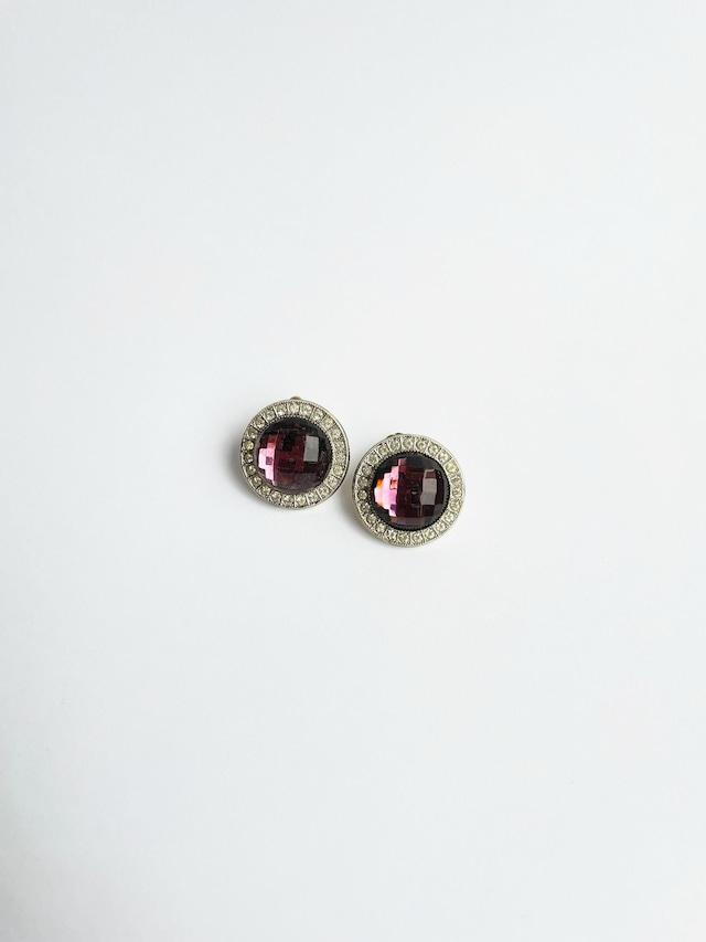 VINTAGE CIRCLE bijou earrings