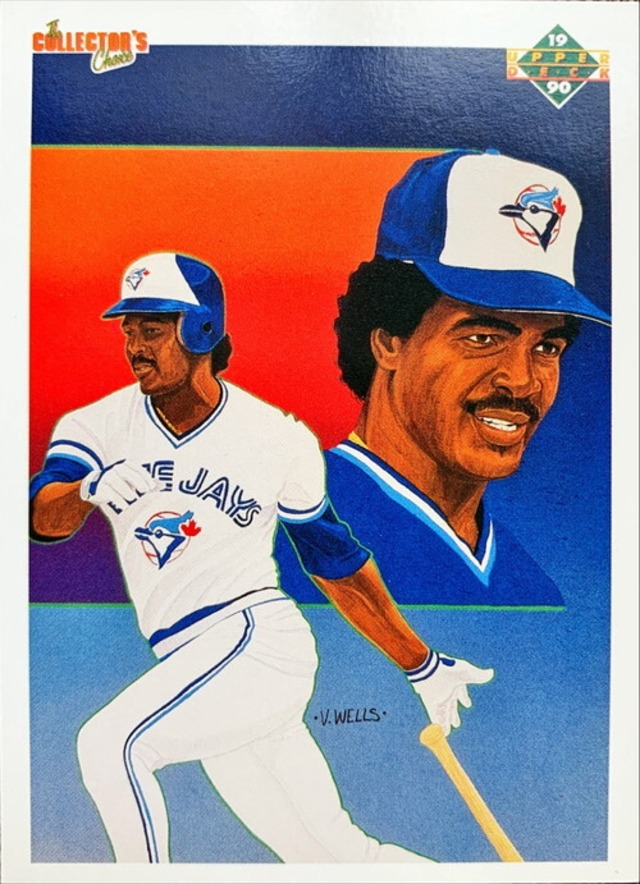MLBカード 90UPPERDECK George Bell #095 BLUEJAYS