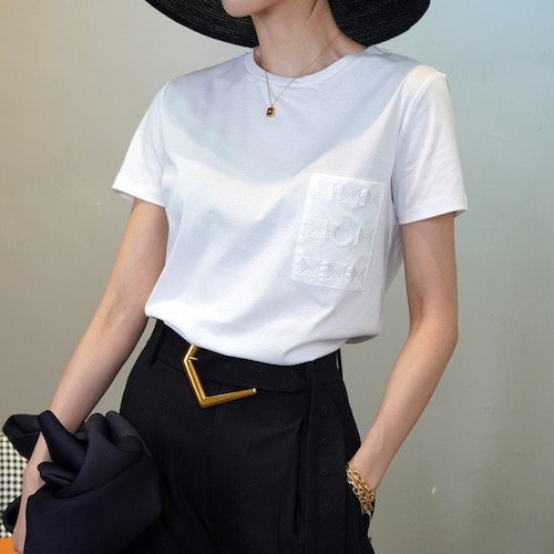 エンブロイダリーポイントTシャツ ・1929