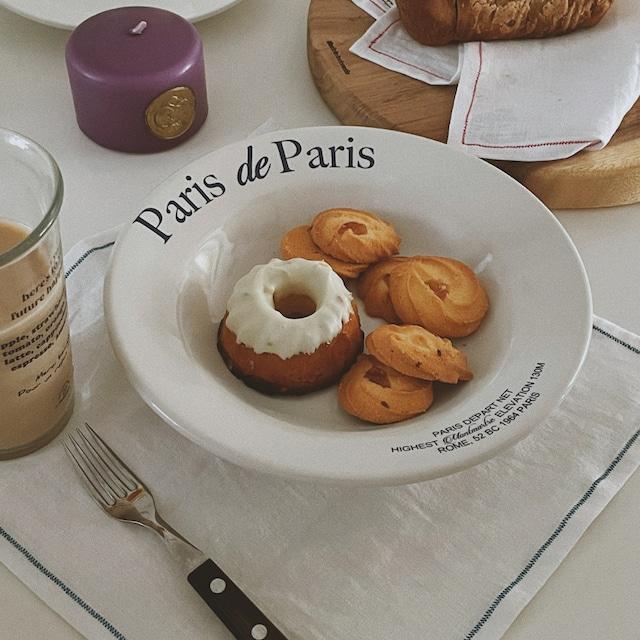 [mamanaube] Paris de Paris プレート