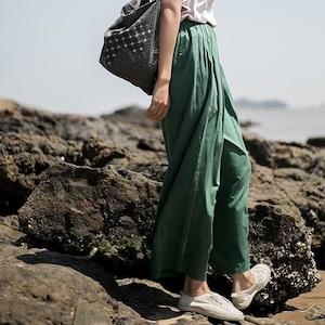 Wide casual pants(ワイドカジュアルパンツ)b-219