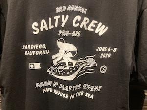 Salty Crew  FOAM N FLATTY 51-221  Black  Mサイズ