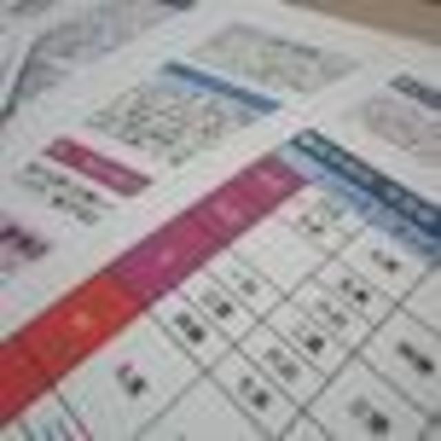 九紫火星1月(自分からみた相性表)
