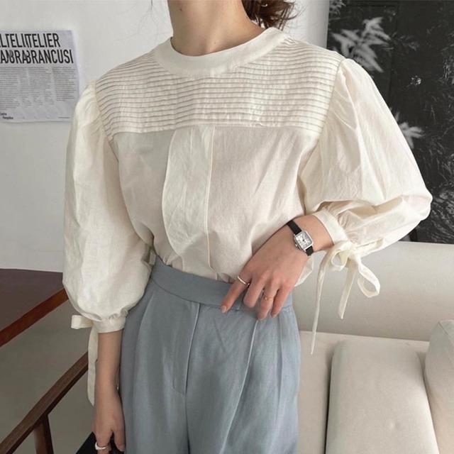 Puffsleeve blouse  KRE908