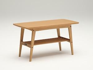 【カリモク60】リビングテーブル小 ナッツシェル オーク突板