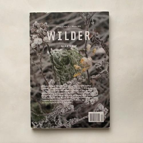 Wilder Quarterly / Volime1, IssueⅡ- Winter
