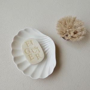 shell ceramic plate / シェル 貝殻 セラミック プレート トレー 韓国 北欧