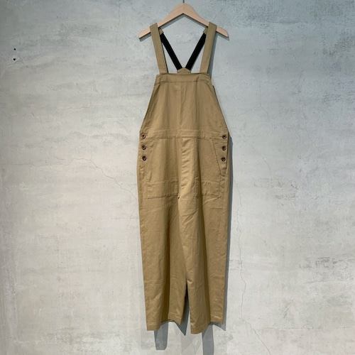 【ippei takei】salopetto/beige/2112-307a