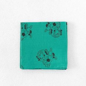 ナタリーレテ Handkerchief Dog Green