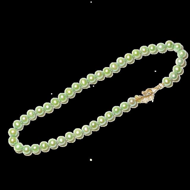 Bon-bon necklace(ボンボンネックレス )EMU-012gr グリーン