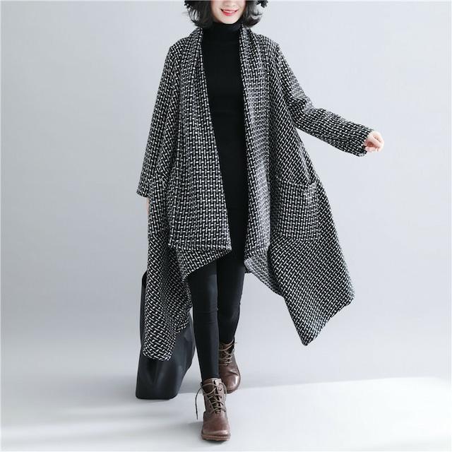 【春新商品 ポンチョコート レディース シンプル コート】 おしゃれ かわいい ファッション ママファッション シンプル   羽織 送料無料