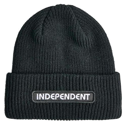 INDEPENDENT B/C Groundwork Beanie  BLACK