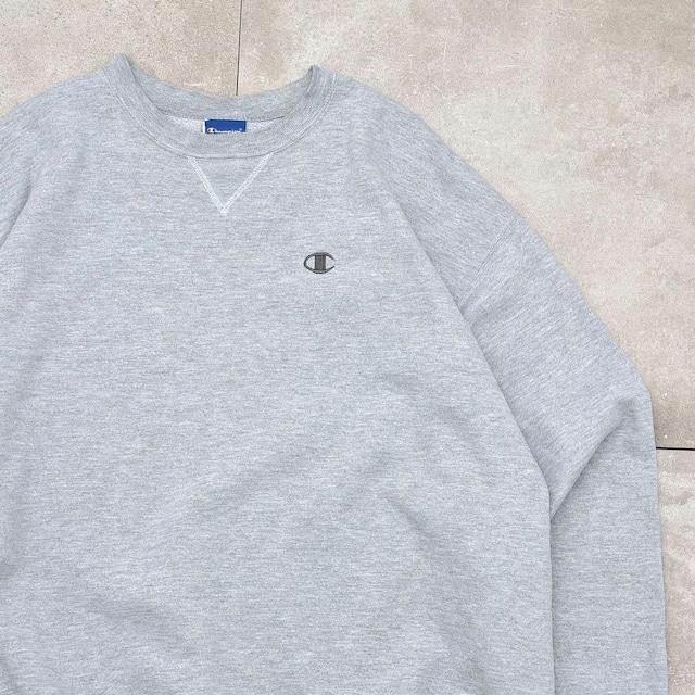 90's~ Champion big size sweatshirt