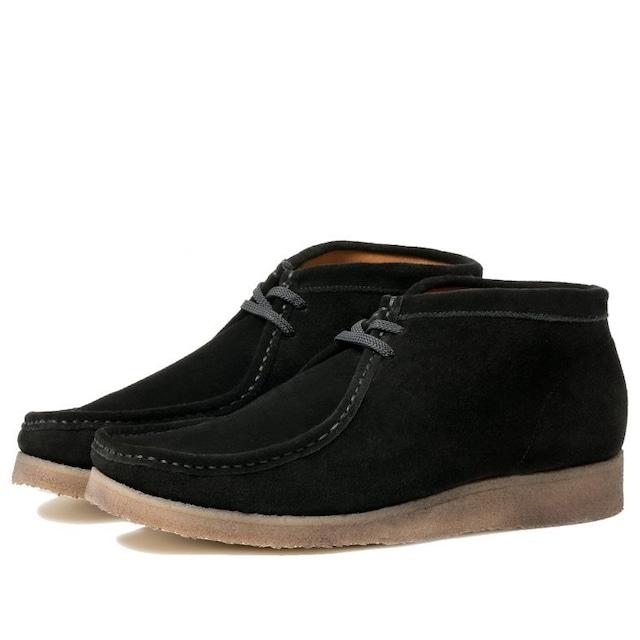 P404 Padmore&Barnes Original Boot / Black Suede
