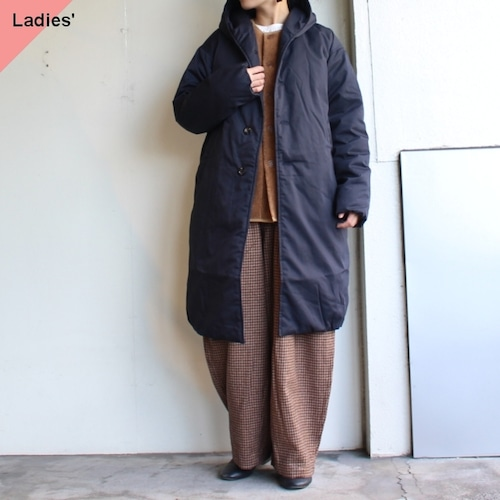 THE LOFTLABO 【19-20秋冬】フードロングダウンコート WIIS ネイビー TL15FJK04