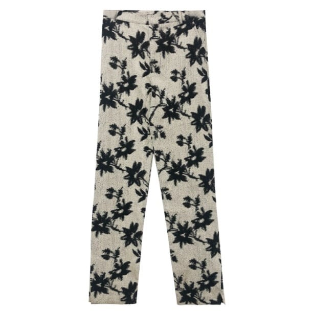 Flower ink pants(フラワーインクパンツ)b-302