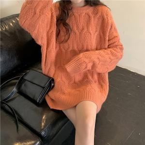 ツイストデザインが大人可愛い♡ニットセーター