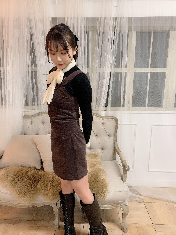 【original】brownie jumperskirt