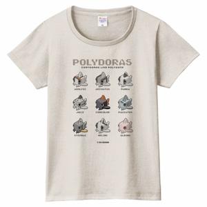 【レディス】ポリドラスTシャツ(オートミール)