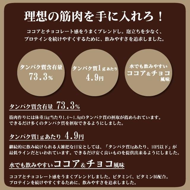 【スプーンなし】BMPプロテイン ココア&チョコ風味 3kg