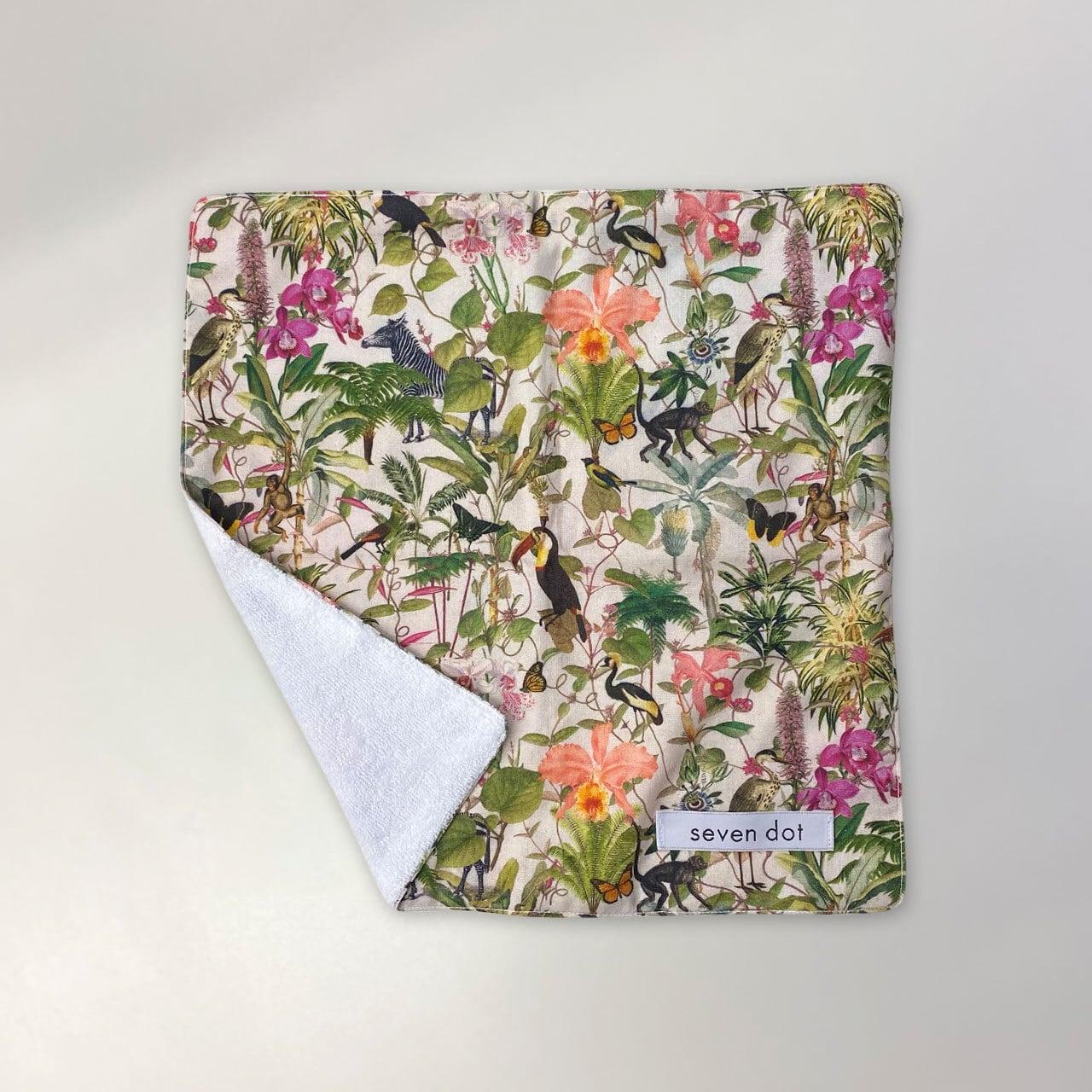 デザインハンカチ - BIRD & FLOWER タオルハンカチ