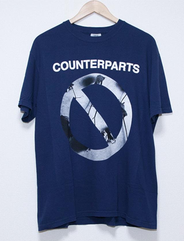 【COUNTERPARTS】Not You T-Shirts (Navy)