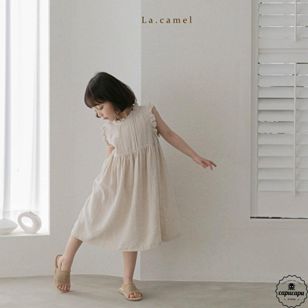 «sold out» La camel lola one piece リネンワンピース
