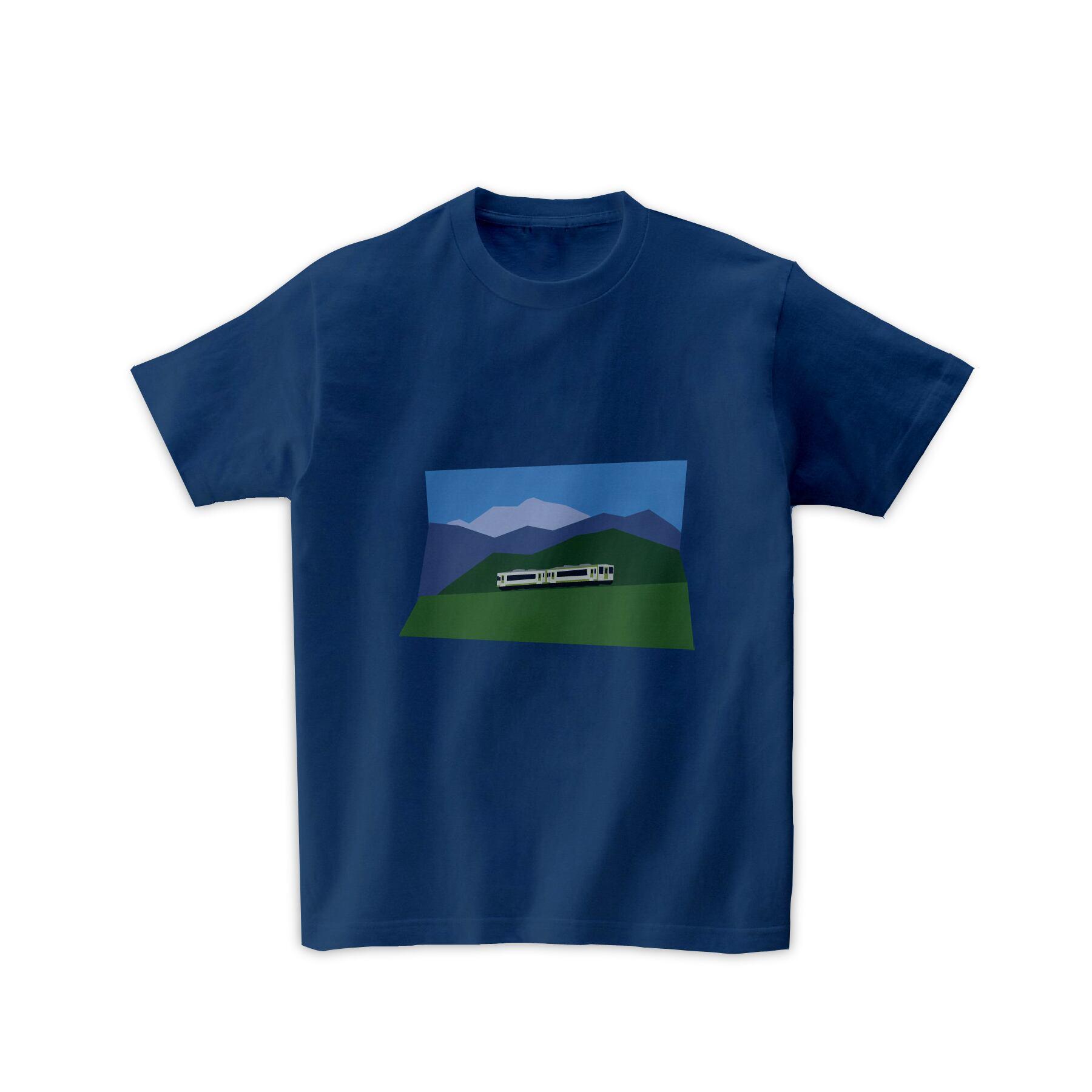 電車Tシャツ-八ヶ岳
