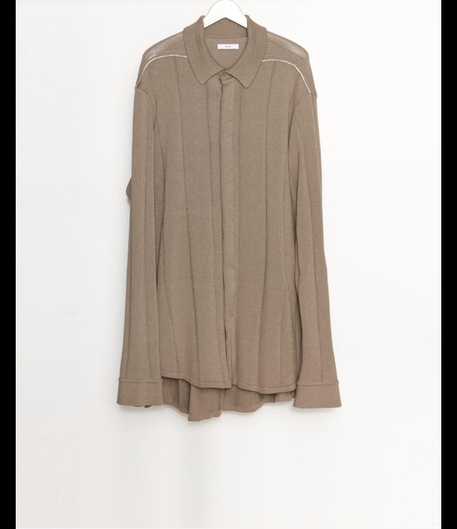 Knit Shirt / L.Brown