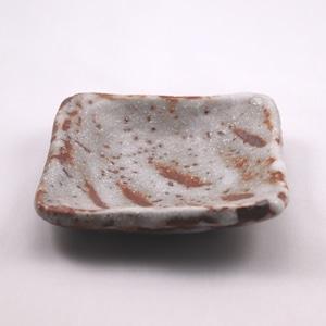 鼠志野 小皿  Nezumishino Small Plate