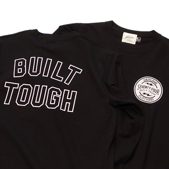 SEVENTY FOUR(セブンティーフォー) /  BUILT TOUGH T SHIRT L/S(BLACK)(STF21SS10)(ロングスリーブTシャツ)