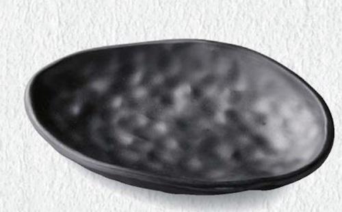 19.3 ひねり楕円曲皿 6-377-4