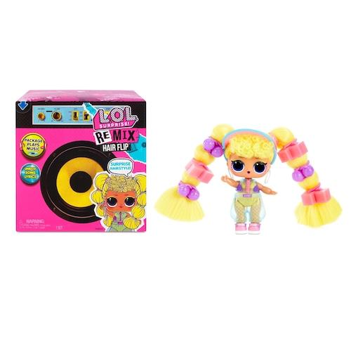 L.O.L. Surprise! Remix Hair Flip Dolls – 15 Surprises with Hair Reveal & Music