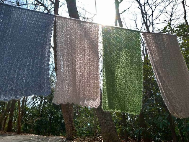 木もれ日マーガレット 編み物キット byコリドーニッティング