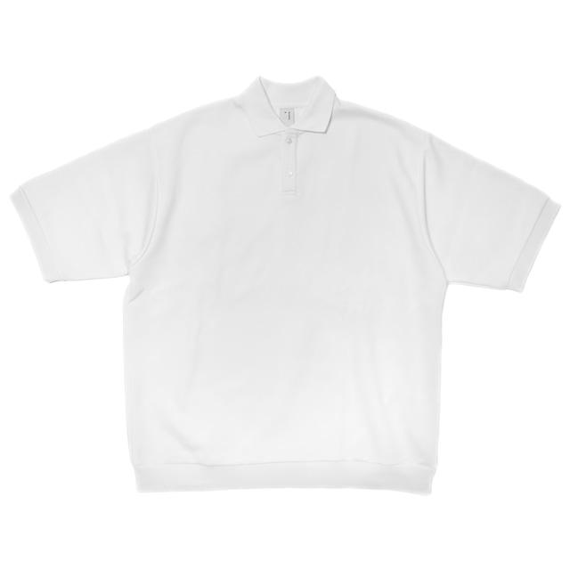 シルエットダンボールビッグポロシャツ